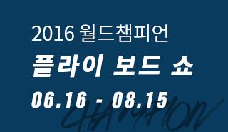 2016 월드챔피언 플라잉 보드 쇼 06.16 - 07.09