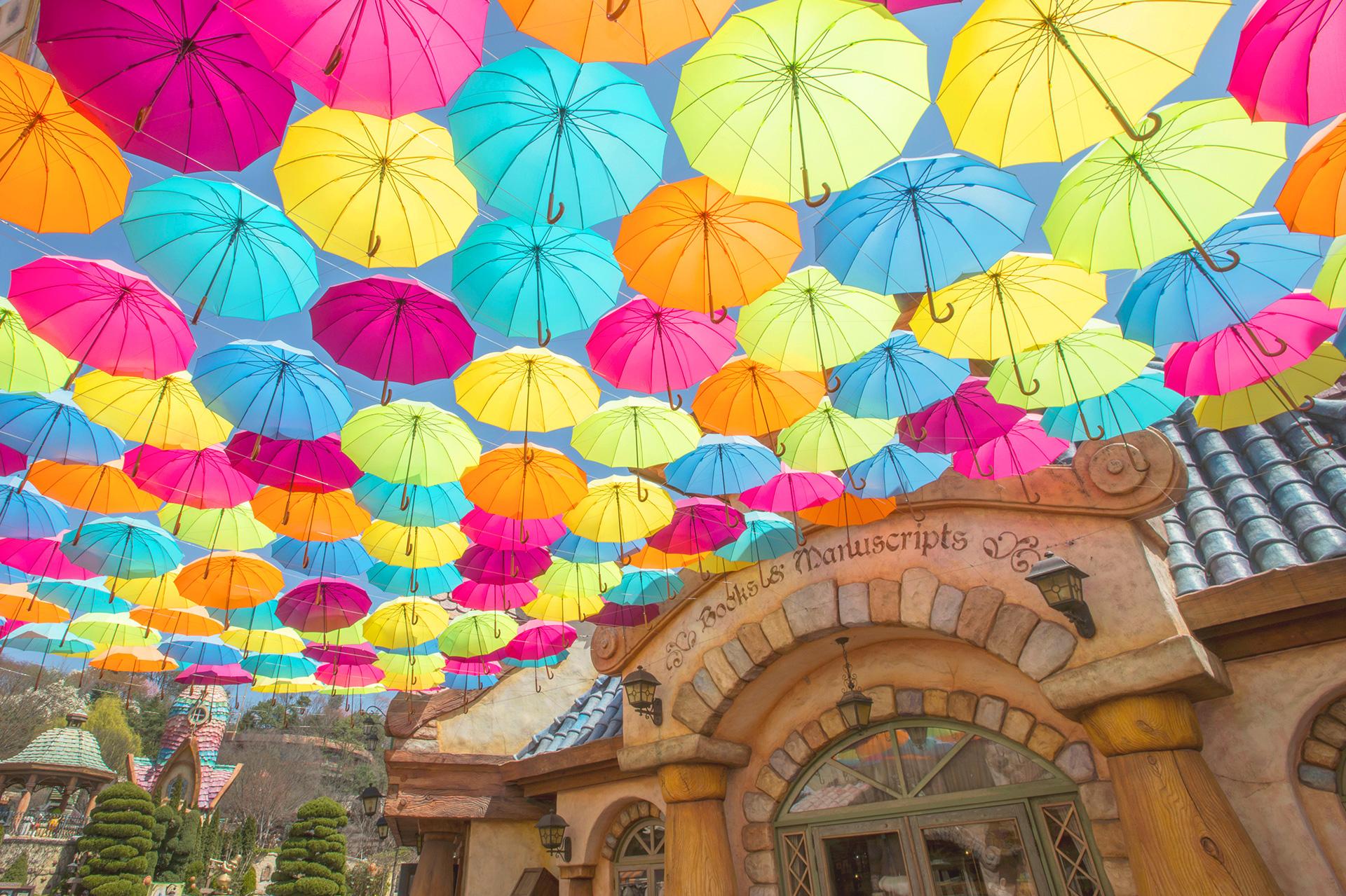 이솝 우산길 이미지