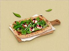 눈알 샐러드 피자