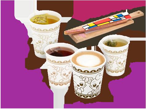 새콤달콤 매실맛 츄러스, 카모마일티, 루이보스키,커피류, 제주유기농녹차