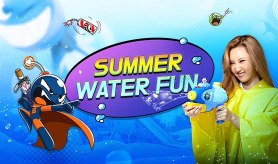 summer water fun 6.21~8.25