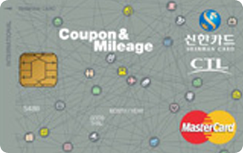 Coupon & Mileage 카드