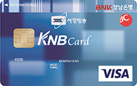 BC카드 경남은행 (주)서경방송 개인신용카드