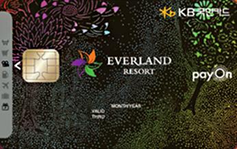 국민 에버랜드 Pass카드