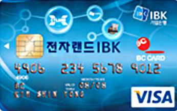 기업 전자랜드 카드
