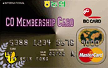 농협 Co-멤버쉽 카드