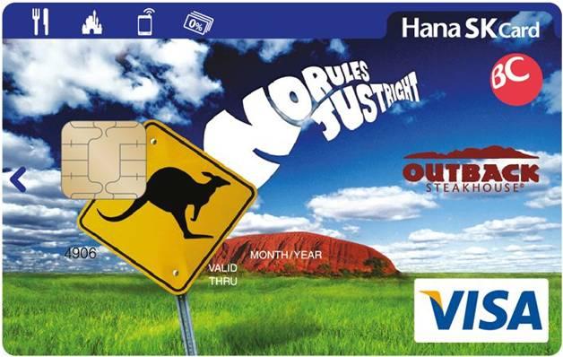하나비씨 아웃백(OUTBACK) 카드