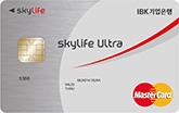 BC카드 IBK skylife ultra카드(신용)