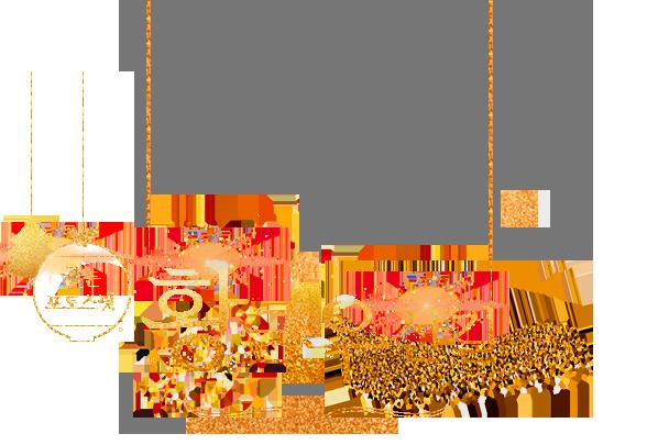 골든 포토스팟 - 황금우산길
