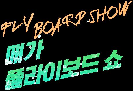 메가 플라이보드 쇼